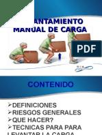 LEVANTAMIENTO MANUAL DE CARGA..ppt
