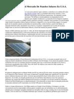 Solartec Entrará Al Mercado De Paneles Solares En U.S.A.