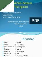 Laporan Kasus Pterigium Ppt