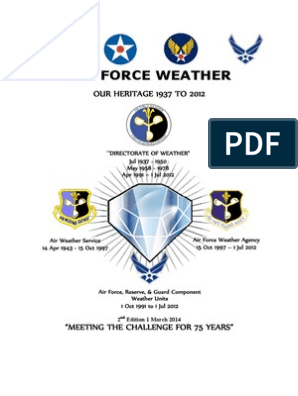 Air Force Weather: Our Heritage 1937 To 2012