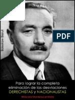 Bolesław Bierut; Para lograr la completa eliminación de las desviaciones derechistas y nacionalistas, 1948