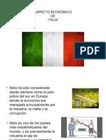Italia Aspecto Económico