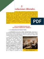 02Las revoluciones liberales.