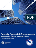 ISC Security Specialist Competencies Guideline Final 01-27-12 508