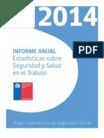 SUSESO - Informe Anual Estadísticas 2014