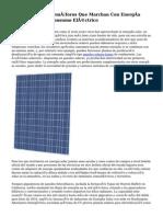 Implementarán Semáforos Que Marchan Con Energía Solar Y Reducen Consumo Eléctrico