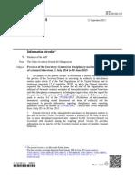 UN Secretariat report on UN disciplinary matters