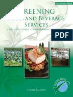 Greening Food Bev