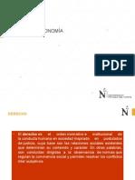 Derecho Empresarial. DERECHO Y ECONOMÍA