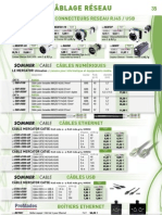 Consommables - Connectiques et Câblages Réseau