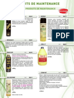 Consommables - Produits de Maintenance