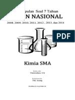 Kumpulan Soal UN Kimia 7 Tahun Terakhir
