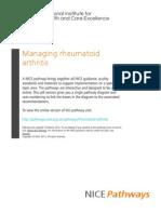 Rheumatoid Arthritis Managing Rheumatoid Arthritis