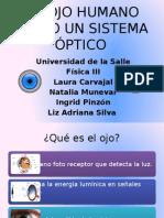 El Ojo Humano Como Un Sistema Óptico