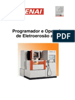 Programador e Operador de Eletroerosão a Fio
