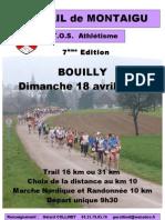 affiche 2010 trail montaigu