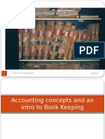 Accounting Concepts and Regulations