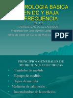 Metrologia Basica en Dc y Baja Frecuencia