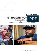 Not So Straightforward Refugee Family Reunion Report 2015