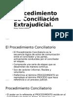 Procedimiento de Conciliación Extrajudicial
