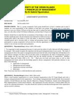 MGT 301 Assignment 2015