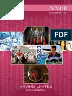 Annual Report 201011Arvind mills