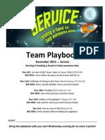 November Team Playbook