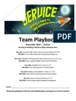 November Team Playbook