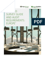 Detailed Survey Guide and Audit Requirements