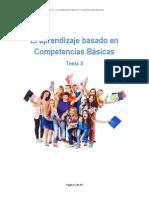 El aprendizaje basado en competencias básicas