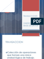 Oracle Base Datos - Clase 1 - Transacciones