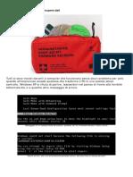 - Kit Di Pronto Soccorso Per Il Recupero Dati Quando Tilt Pc