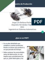 Presentación_Plan Maestro de Producción