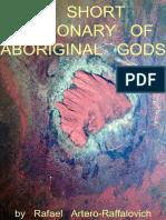 A Short dictionary of aboriginal gods
