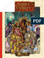 Exalted - Games of Divinity
