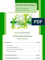 75 Tips to Green Your Business