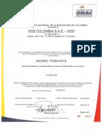 Archivo Certificado SGS