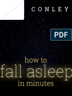 How to Fall Asleep in Minutes