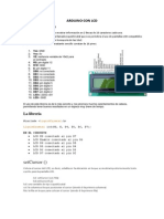 Arduino y Lcd