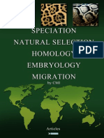 CMI - Speciation, Natural selection, Migration, Homology Embryology