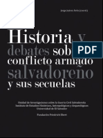 Historia y debates sobre el conflicto armado salvadoreño y sus secuelas