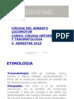 CLASE 01. Historia Clínica en Traumatología
