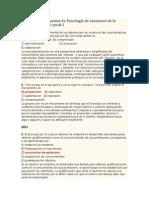 Preguntas y Respuestas de Psicología de Examenes de La UNMSM 2000 Al 2008