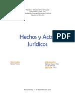 Hechos y Actos Juridicos. Civil Contratos.doc