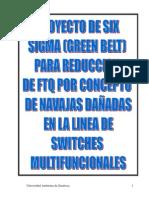Proyecto de Six Sigma (Green Belt) (3)FTQ