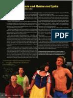 "RAGE Magazine features ""Vanya and Sonia and Masha and Spike"" at Coronado Playhouse"