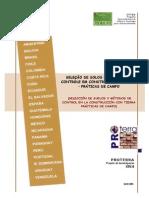 SELEÇÃO DE SOLOS E MÉTODOS DE CONTROLE EM CONSTRUÇÃO COM TERRA – PRÁTICAS DE CAMPO