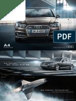 Audi A4Sedan and Avant Flyer (Germany, 2015)