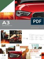 Audi A3 Sportback e-tron Brochure (Germany)