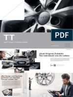 Audi TT / TTS (type FV) Zubehor / Accessories Catalogue (Germany)